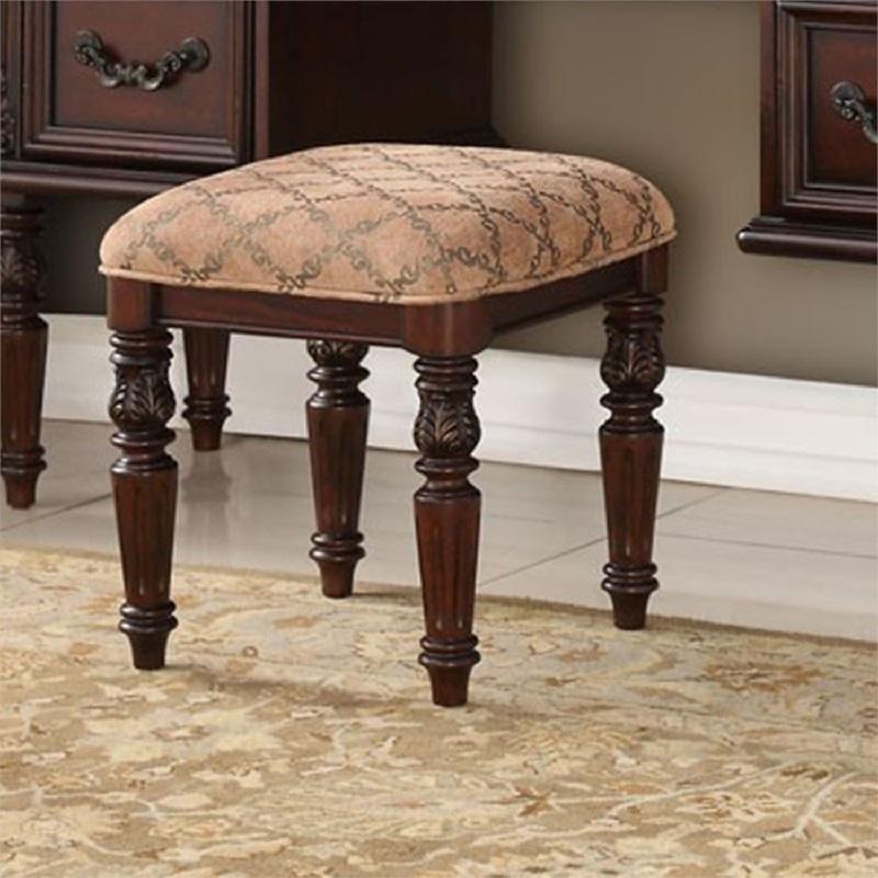 American Design Furniture By Monroe - Yorkshire Vanity Stool