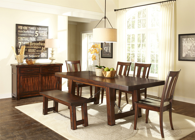 Casual dining room set 5 for Casual dining room sets