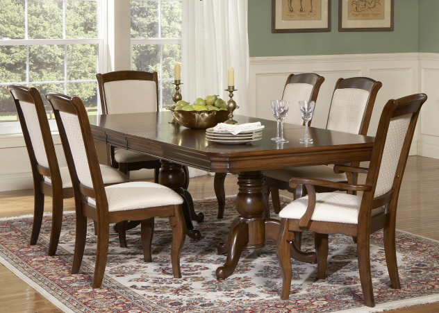 Amazing Formal Pedestal Dining Room Furniture 632 x 451 · 238 kB · jpeg