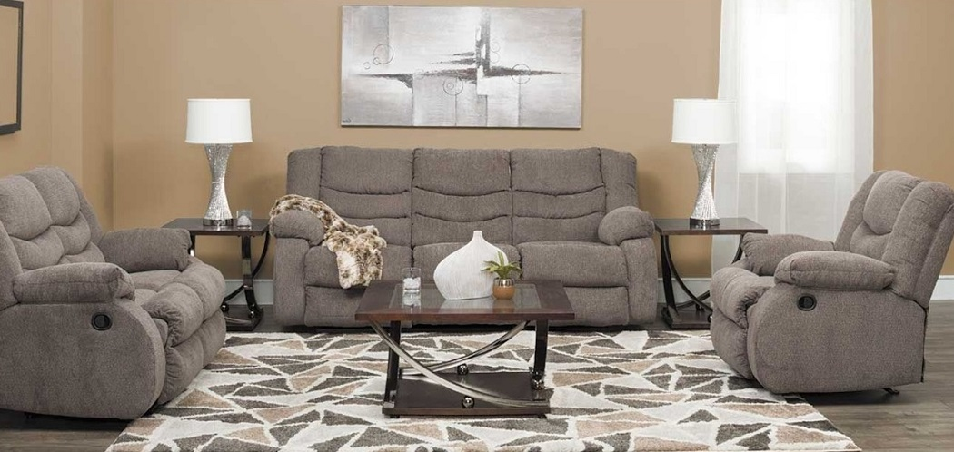 American Design Furniture by Monroe - Cameron Recliner Set